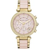MICHAEL KORS SRA.BATHROOM PINK AND ZIRCONS MK6326