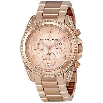 WATCH MICHEL KORS CHRONOGRAPH PVD ROSE MK5263 Michael Kors