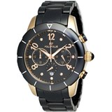 WATCH BLACK CERAMIC WF9R00BYK FOLLI FOLLIE