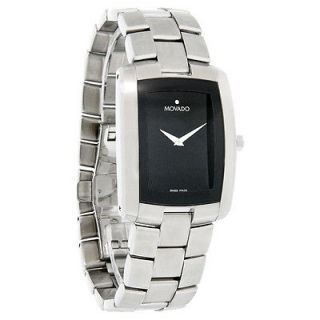 MOVADO WATCH CHEVALIER RECTANGULAIRE 84-C1-455-UN 84-C1-455-A