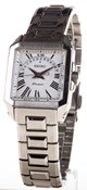 WATCH SEIKO PREMIER WOMEN S STEEL SQUARE WITH A CALENDAR AND A SAPPHIRE CRYSTAL SXD789
