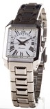 WATCH SEIKO PREMIER WOMEN'S STEEL SQUARE WITH A CALENDAR AND A SAPPHIRE CRYSTAL SXD789