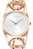WATCH WOMEN CALVIN KLEIN STEEL BATHROOM ROSE GOLD K5U2M646