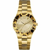 WATCH WOMEN GUESS GOLD-YELLOW SPHERE FELINE W0404L1