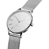 WATCH WOMAN MVMT STEEL MESH FLAT BOX MB01-S