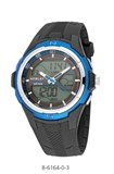 MONTRE NOWLEY KNIGHT RACING ANA/DIGI 8-6164-0-3
