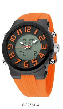 MONTRE NOWLEY ORANGE CHAUD