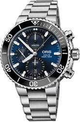Reloj ORIS AQUIS CRONO AZUL 77477434155