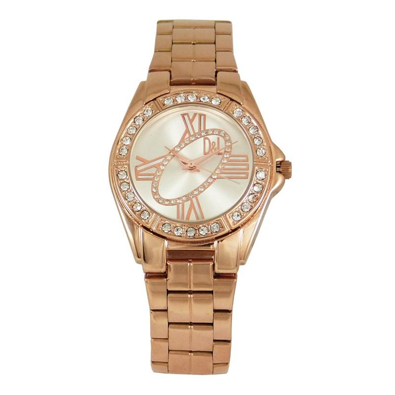Reloj oro rosa mujer 8435432512937 DEVOTA Y LOMBA Devota & Lomba