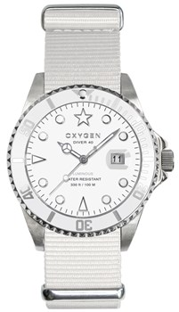 WATCH OXYGEN WHITE BEAR 40 EX-D-WHI-40