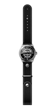 LEATHER MEN WATCH, BLACK DIAL 8435432512234 DEVOTA & LOMBA