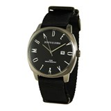 LEATHER MEN WATCH, BLACK DIAL 8435432513088 DEVOTA & LOMBA