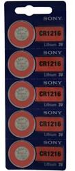 Pilas de Boton SONY CR1216 Diloy PRSNCR1216
