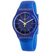 Blue plastic watch suon142 Swatch