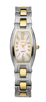 Potens steel and gold watch
