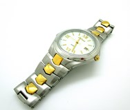 WATCH POTENS STEEL & GOLD 40-2149-0-2