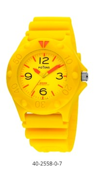 WATCH YELLOW POTENS 40-2558 YELLOW 40-2558 amarillo