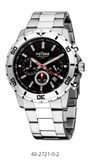 WATCH MEN POTENS STEEL CHRONOGRAPH 40-2721-0-2