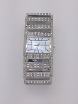 Watch Potens Lady steel and Zircons