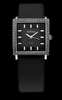 Watch Potens Lady leather strap