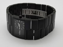 WATCH POTENS MS. STEEL BLACK 40-223-0-0