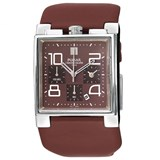 WATCH PRESS TO MAN IN BROWN CHOCOLATE PF8101X Pulsar