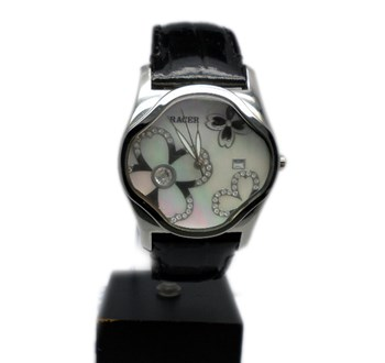 WATCH RACER LADY WITH FLOWERS RM13718-2