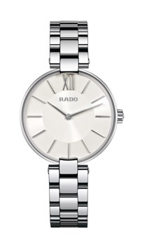RADO COUPOLE STEEL WHITE WATCH R22850013