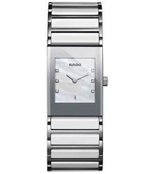 Reloj Rado de mujer en ceramica blanca R20746901