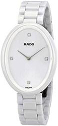 Reloj Rado de mujer en ceramica blanca R53092712
