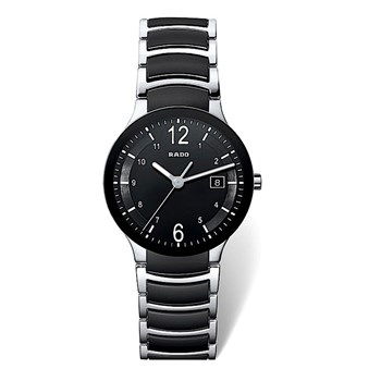 Rado watch male centric steel and ceramic R30934152