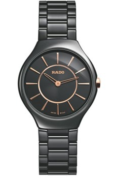 RELOJ RADO TRUE THINLINE BLACK R27742152