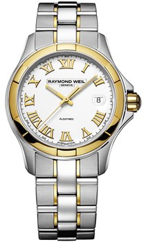 WATCH RAYMOND WEIL PARSIFAL WATCHES AND ORO18K 2970-SG-00308