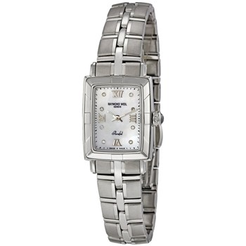WATCH RAYMOND WEIL PARSIFAL RECTANGULAR LADY 9741-ST-00995