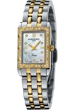 WATCH RAYMOND WEIL TANGO TWO-TONE MINI 5971-SPS-00995/BR