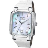 Watch Sandoz steel and brilliant Lady 81262-70
