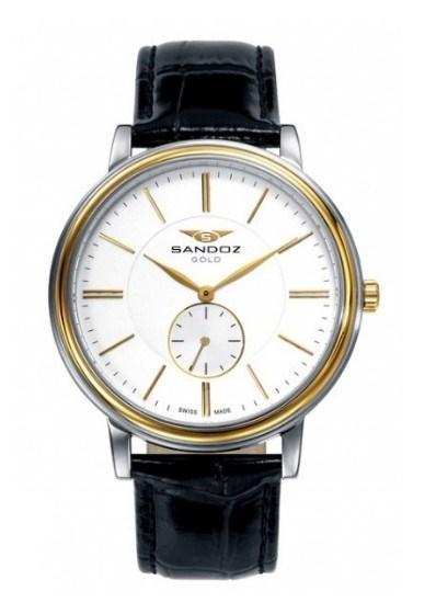 Reloj Sandoz acero y oro 11701 81385-99