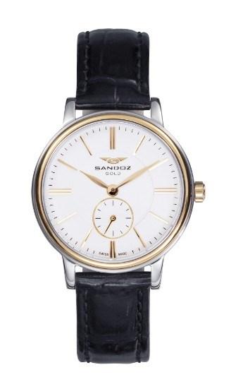 Reloj Sandoz acero y oro mujer 11702 81318-99