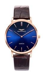 Reloj Sandoz clásico azul 81429-37 11696