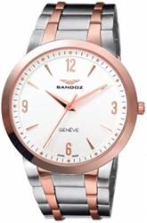 Reloj Sandoz Clásico hombre bicolor  81333-90