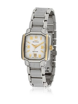 Sandoz\'s steel and gold watch Lady 81264-10
