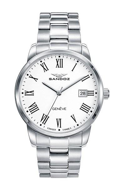 Reloj Sandoz hombre zafiro 81439-03 11690