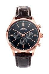 Reloj Sandoz rosado hombre 81465-57 11694