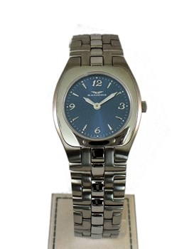 SANDOZ LADY 82504-03 BLUE DIAL WATCH