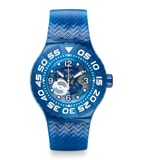 BLUE SCUBA SUUS100 SWATCH WATCH