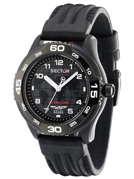 Reloj Sector adventure 3h solar black R3251198025