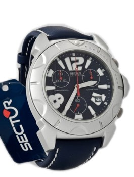 Secteur aluminium de montre homme bleu marine 3251916535A Sector
