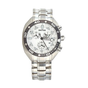 Sector Ocean Master watch chrono white R3253966015
