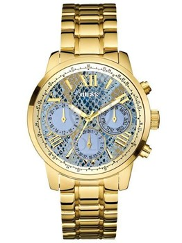 WATCH LADY ANALOG W0330L13 GOLDEN-YELLOW GUESS