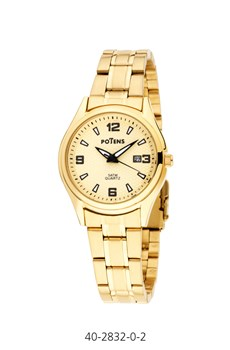 WATCH LADY CLAD IN GOLD POTENS 40-2832-0-2